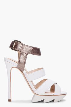 I dig it. #shoes #fashion #heels #camillaskovgaard #sandals