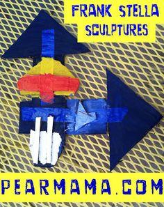 Pearmama: Modern Art 4 Kids: Frank Stella Sculptures