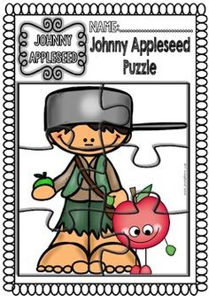 JOHNNY APPLESEED READINGS AND PRINTABLES (FUNNY SET) 50% OFF 72 HS. - TeachersPayTeachers.com