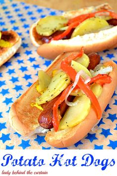 Potato Hot Dogs