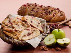 Apple Cider Cranberry Bread #Recipe #Starter