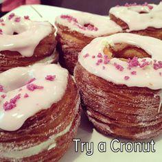 Bucket list: Try a Cronut from Dominique Ansel Bakery in NYC! bucketlist, doughnut, cronut, buckets, bakeries, nyc bucket list, croissants, bucket lists, sugar