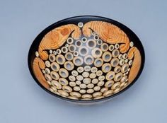 Gianfranco Angelino : turned wood bowl