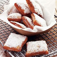 Beignets | Try Café Beignet's recipe for the best beignets in the Big Easy. | SouthernLiving.com