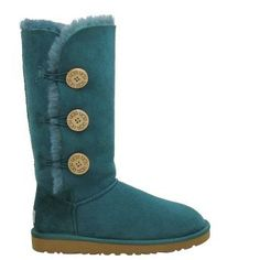 Wow__Worth it !Cofortable and cheap !Ugg Bailey Button Triplet Boots 1873 Green sale  $89.00