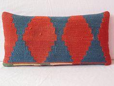 decorative throw pillow Handwoven VINTAGE decorative by DECOLIC, $43.00