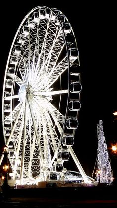 Christmas - Ferris wheel of Paris