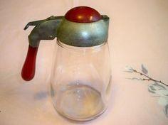 Vintage 1930s Bakelite Karo Syrup Pitcher Dispenser