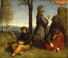 The Agony in the Garden - Raphael