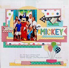 Hello Mickey! Disney Layout