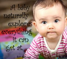 Re-pin if your #baby is an explorer!