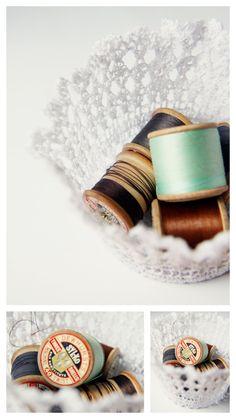 DIY: doily lace bowl