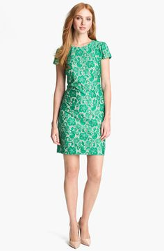 Ivy & Blu for Maggy Boutique Lace Shift Dress available at #Nordstrom