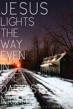 the lord, dark night, christian, the darkness, faith, jesus light, night lights, gods will, quot