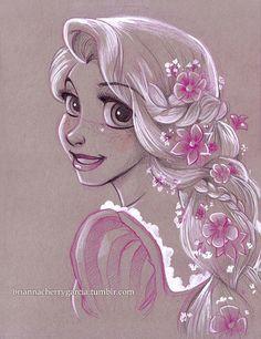 Original Art - Rapunzel
