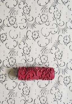 Patterned Paint Roller No.1