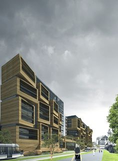In Progress:  Student Apartment Studios in Paris / OFIS