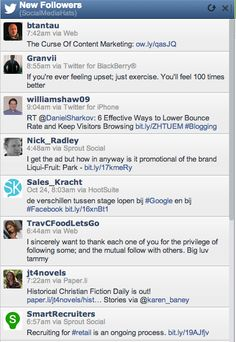 See All Your New Followers in a HootSuite Stream  #HootSuite #Twitter #SocialMonitoring