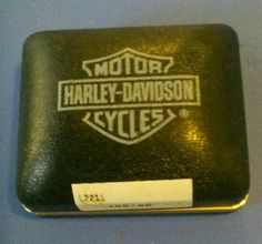 Vintage Harley Davidson Motorcycles Ring BOX | eBay