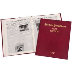 The Complete New York Times Of Your Birth Date - Hammacher Schlemmer