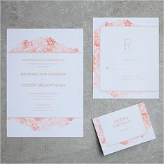 Customize and download this free wedding invitation suite from Anticipate Invitations.