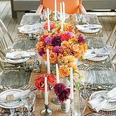 Rustic Outdoor Table Setting   Rustic Outdoor Table Setting Ideas   SouthernLiving.com