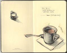 artist, JOE BLUHM -: New Sketchbook