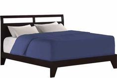 Dominique Platform Bed Frame Java