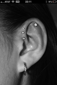 piercing-I think my ears are too small though :(
