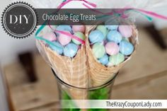 DIY Chocolate Egg Treats for Kids!
