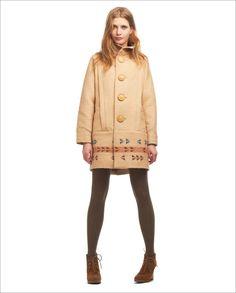 Lauren Moffat coat