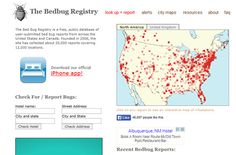 It's Listed on the Bedbug Registry