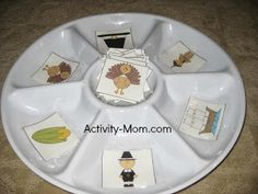 Thanksgiving Sorting (free; from The Activity Mom)