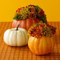 Easy Thanksgiving Crafts | Decorate with pumpkins | AllYou.com