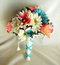 flowers with my wedding colors