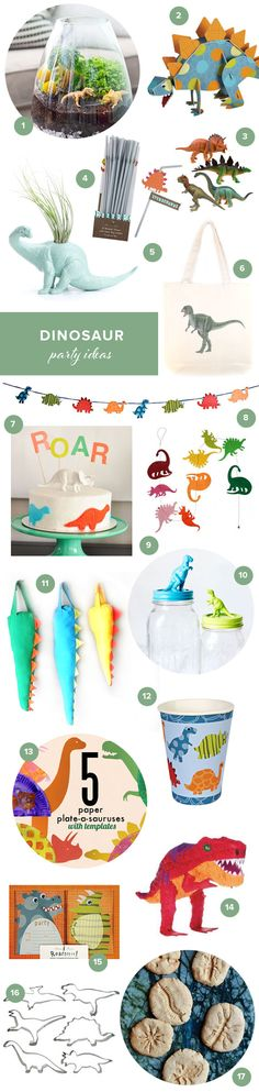 Dinosaur party ideas | 100 Layer Cakelet #kidsparties #dinosaur #birthday #party