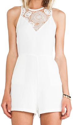 Check out the back of this romper...Pretty!