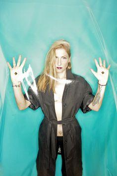 bpitch control -ELLEN ALIEN  #style #djs #music #girldjs #vynils #headphones #fashion #housemusic  #edm