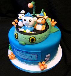 Octonaut Cake....OMG!!!! We love the Octonauts!!!!