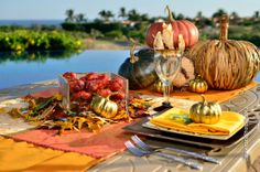 #Thanksgiving decoration in #Cabo San Lucas, Mexico #holiday #celebration #Mexico