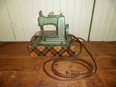 Betsy Ross Toy Sewing Machine Electric Mid by thelongacreflea, $55.00