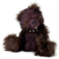 Created by Charlie Bears UK.  Charlie Bears - Chuckles Item: #CB625108  19 inches tall, created in plush, jointed