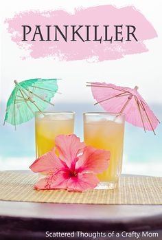 Easy Tropical Drink Recipes: Painkiller