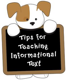 Corkboard Connections: Tips for Teaching Informational Text (Includes a freebie from Graphic Organizers)