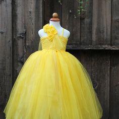 #Belle inspired #tutu-dress for #Halloween