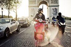 #ridecolorfully on a parisian vacation