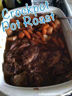 Crockpot Pot Roast 3