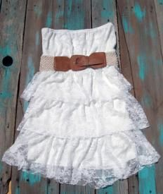 This is the dress I just ordered to get our fall pictures in! Can't WAIT to get it! Thought it would look super cute with a blue jean jacket, cowboy boots and some bling bling