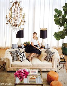 Lauren Conrad Has a Chandelier in Her Closet (and Other Must-See Photos from Her Home) #InStyle