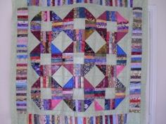 Scrap quilt pattern and tutorial from Ludlow Quilt and Sew